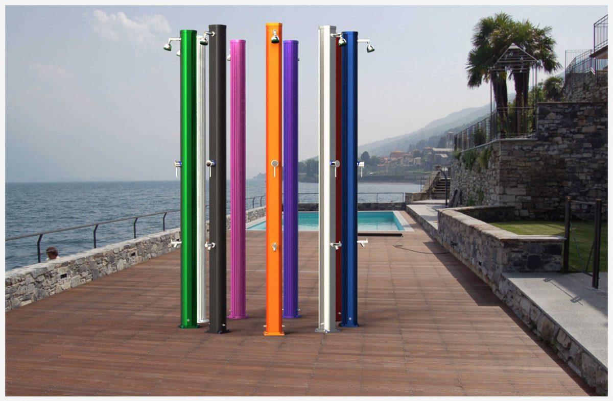 Ducha solar - Duchas solares para piscinas ...
